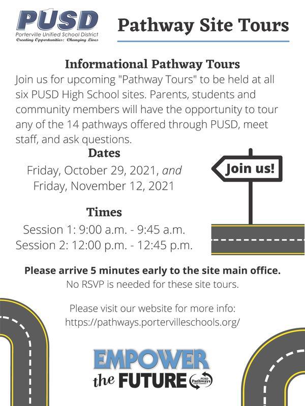 pathway tour