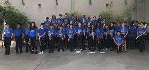 New Tech Middle Band Group Shot