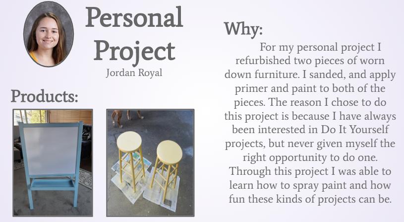 Jordan's Personal Project