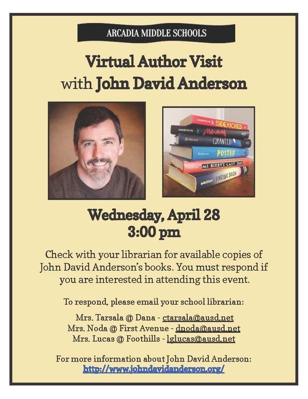 Meet the Author John David Anderson