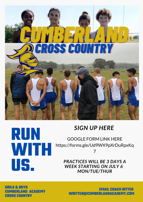 Cross Country Sign up for 2021-2022 school year! Featured Photo