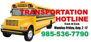 transportation hotline
