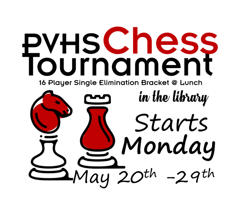 PHS Chess Tournament May 20-29 Thumbnail Image