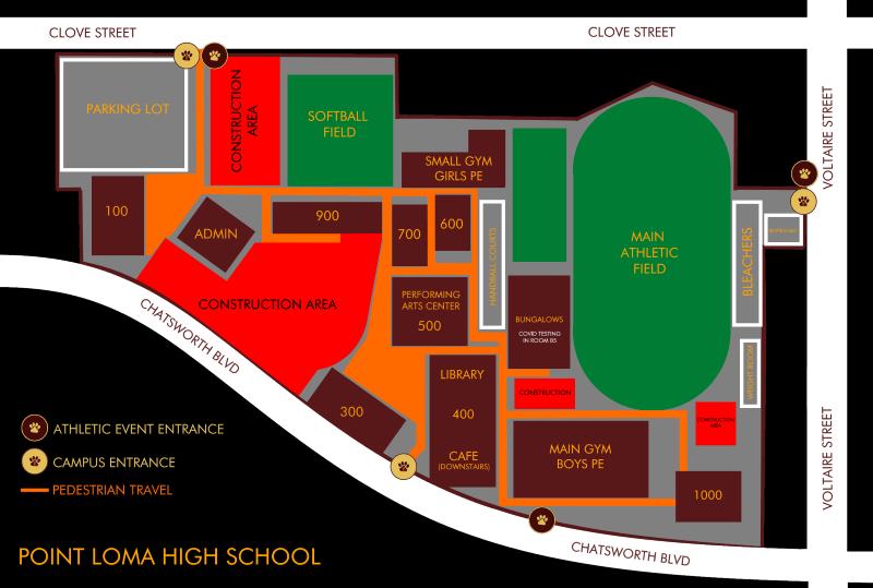 PLHS Campus Map