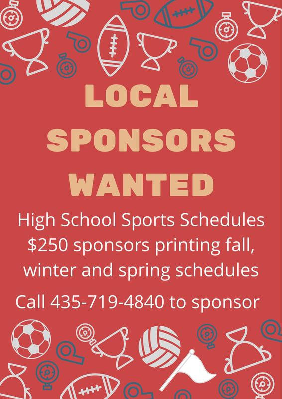 Sponsorship opportunities for high school sports calendar Featured Photo