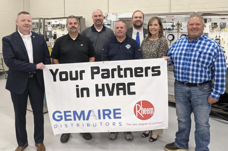Donation by Gemaire and Rheem