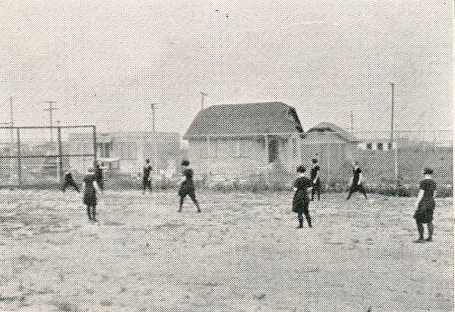 girl's baseball 1927