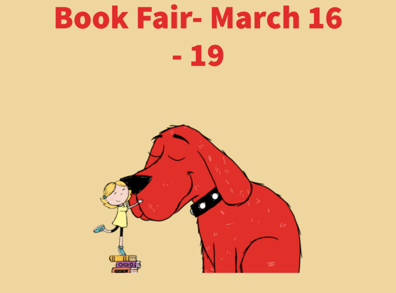 Spring Book Fair will be March 16 - 19