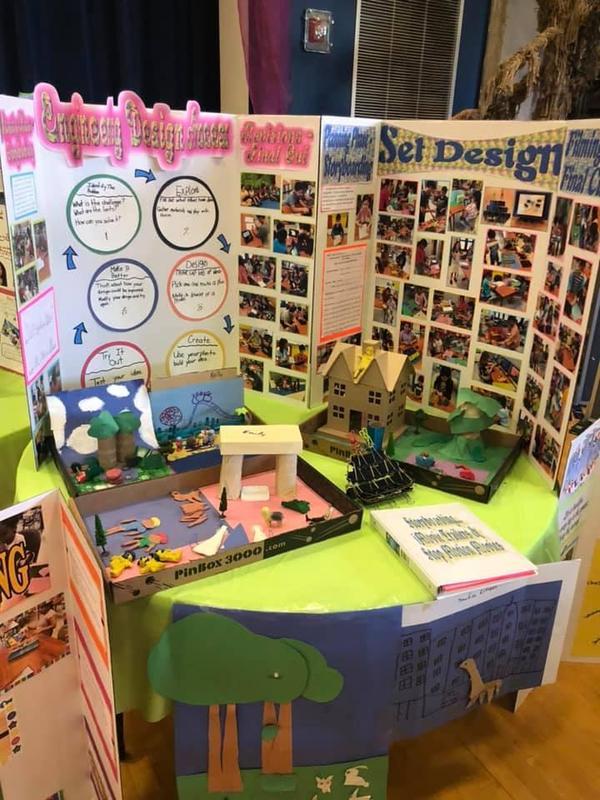 set design table
