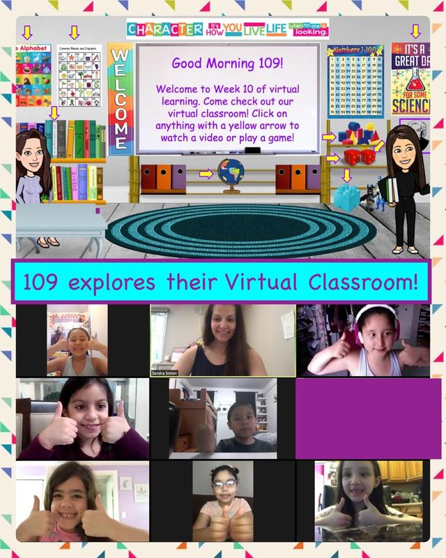 Mrs. Soares and Mrs. Simon Show Off Their Virtual Classroom