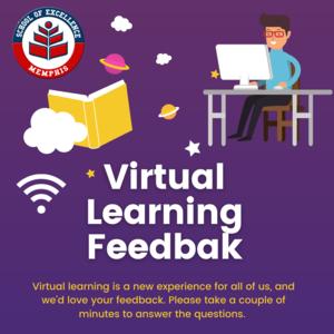 virtual learning feedback