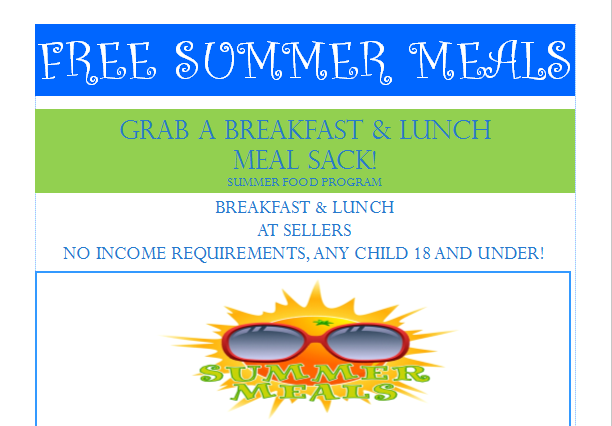 Summer Meal Flyer