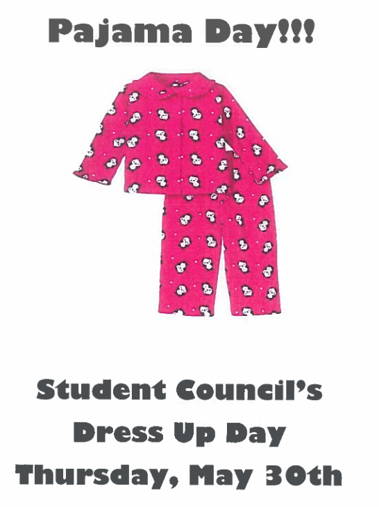 PJ Day Flyer May 30