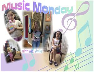 Ms. Avila's Music Monday