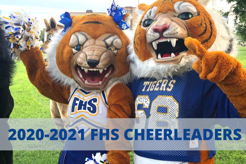 2020-2021 FHS cheerleaders
