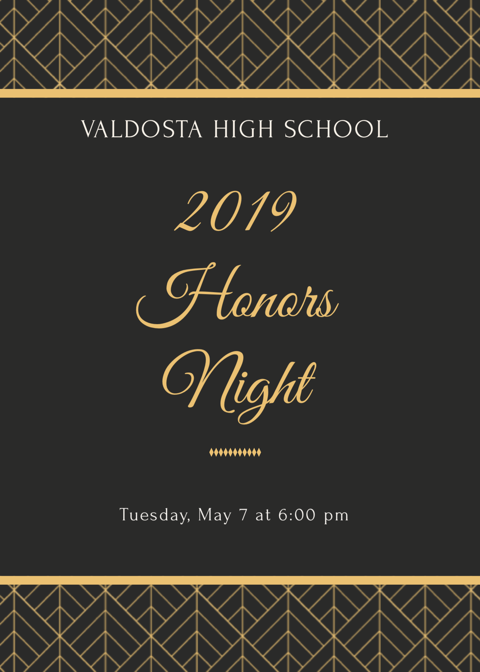 VHS Honors Night
