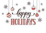 Happy Holiday's!