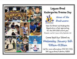 kinder preview day