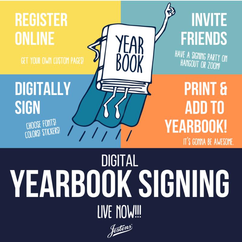 Digital Yearbook Signings now Happening! Thumbnail Image