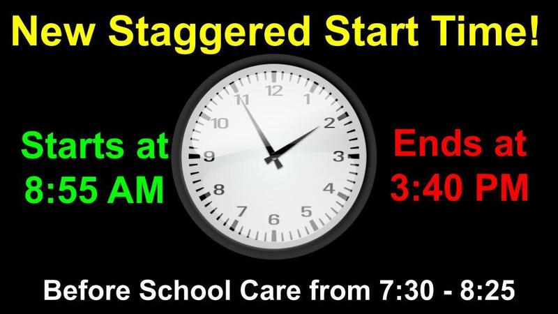 New Staggered Start Time Featured Photo