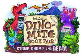 dinomite book fair