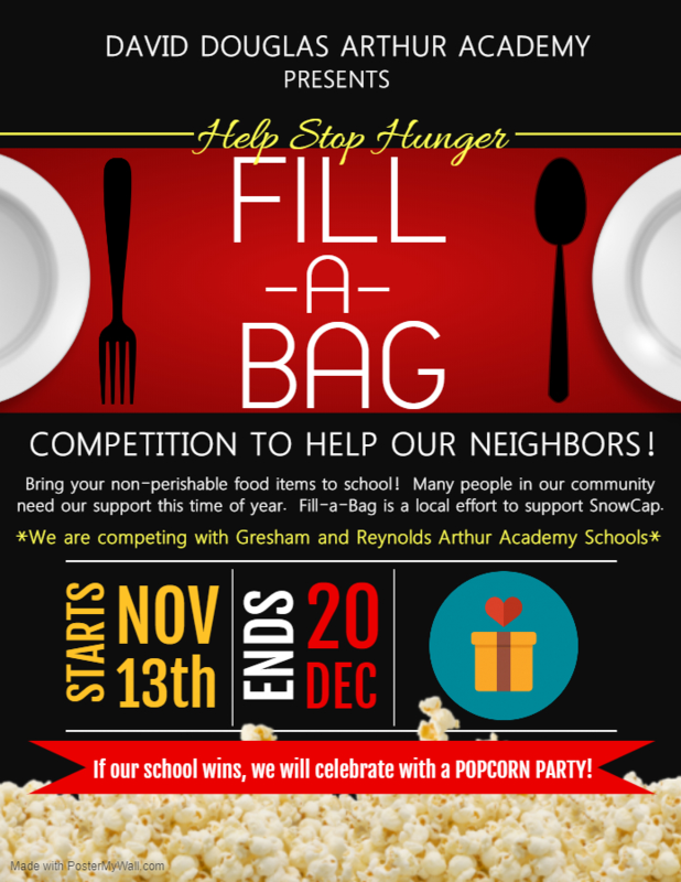 Fill A Bag - Help Stop Hunger! Thumbnail Image
