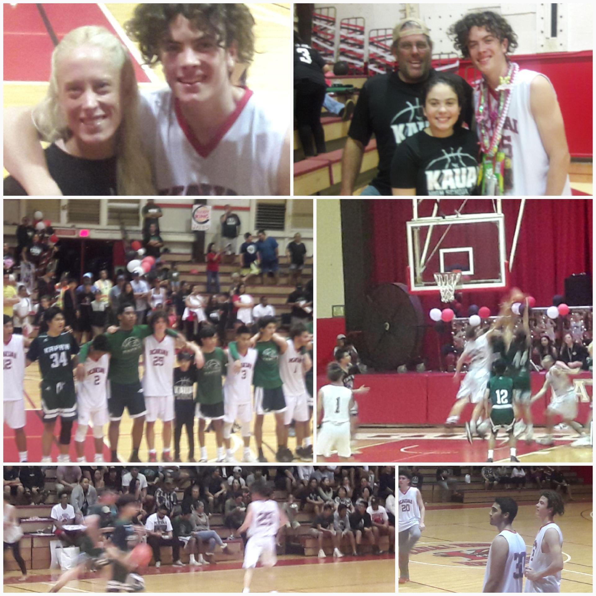 Basketball super fan