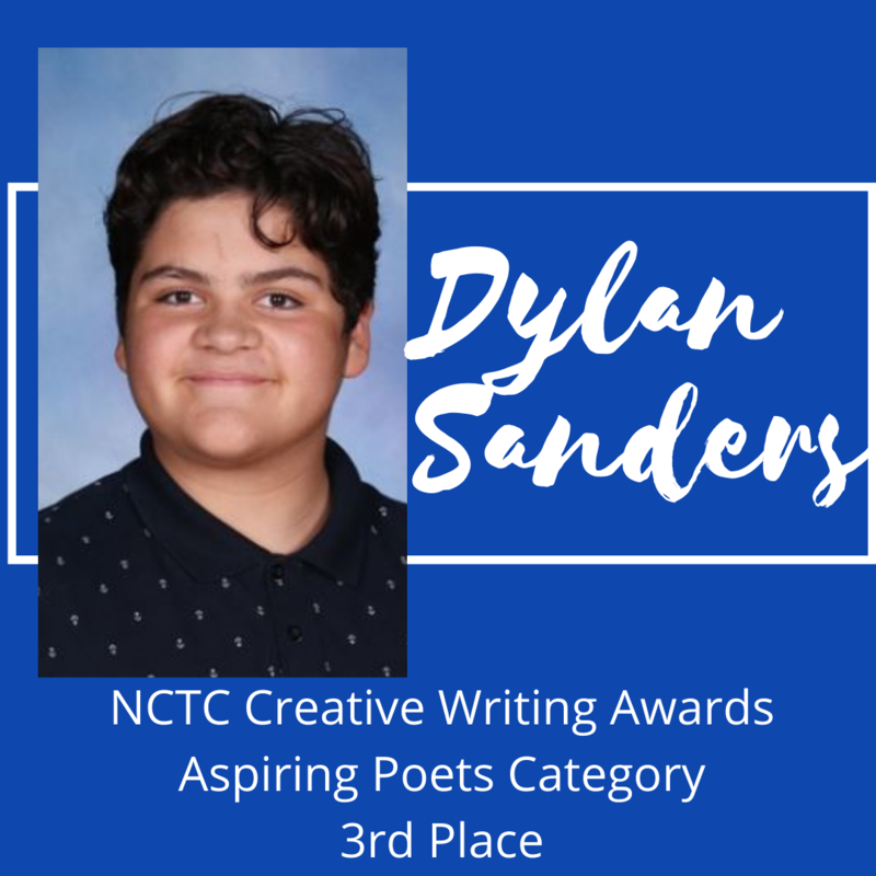 KHS Sophomore Places 3rd in NCTC Writing Contest Featured Photo