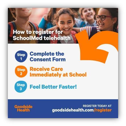 How to register for SchoolMed telehealth      Como registarse para telesalud de SchoolMed Featured Photo