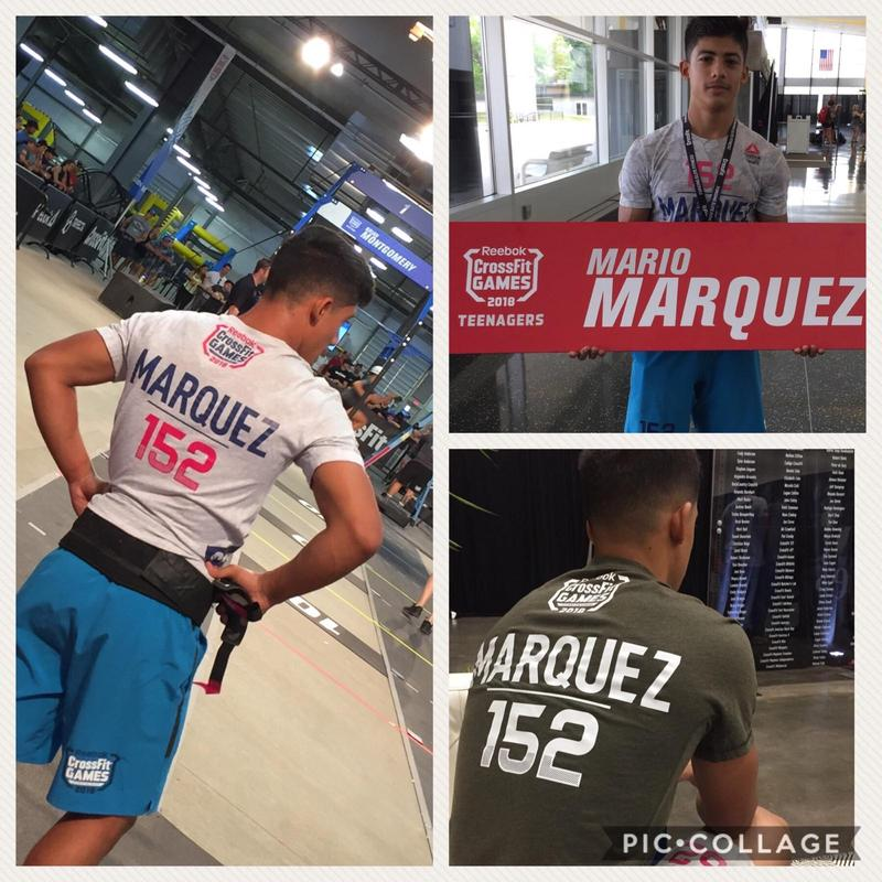Sophomore Mario Marquez Jr. Qualifies for the Cross-Fit Games in the 14-15 Boys Division Featured Photo