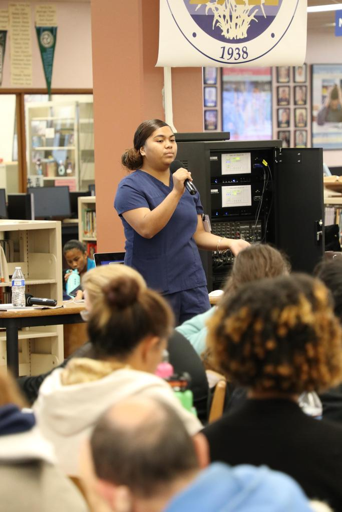 AHS student shares her experience with Student Success Conference