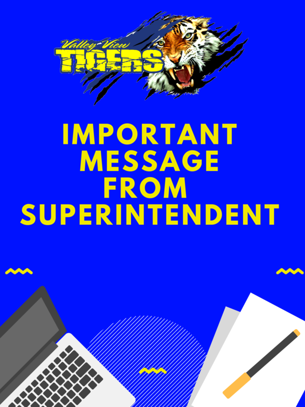 IMPORTANT MESSAGE FROM MRS. LUNA, INTERIM SUPERINTENDENT! Thumbnail Image