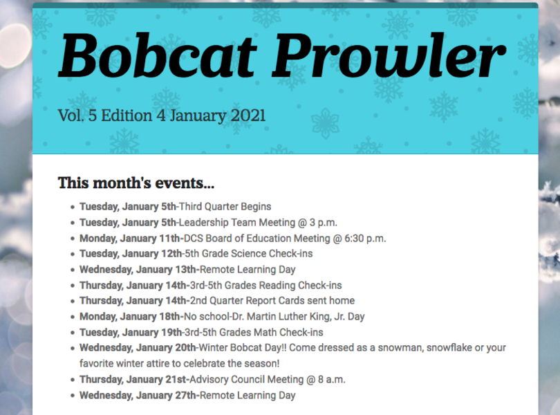 January Prowler