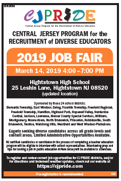 Ad for job fair