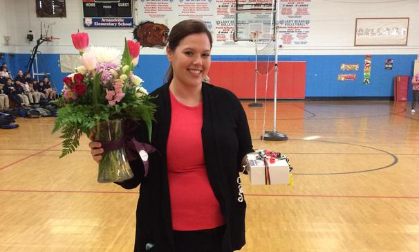 Teacher of the Year Mrs. Doucet