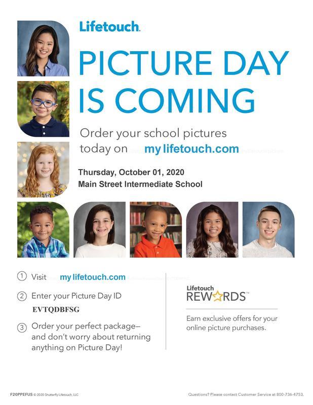 Fall Picture Day Is Coming - Thursday, October 2nd! Haga clic aquí para obtener información en español Featured Photo