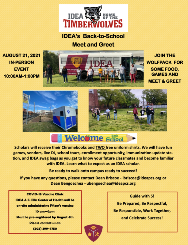 Back-to-School Meet & Greet on August 21 from 10am-1pm Thumbnail Image