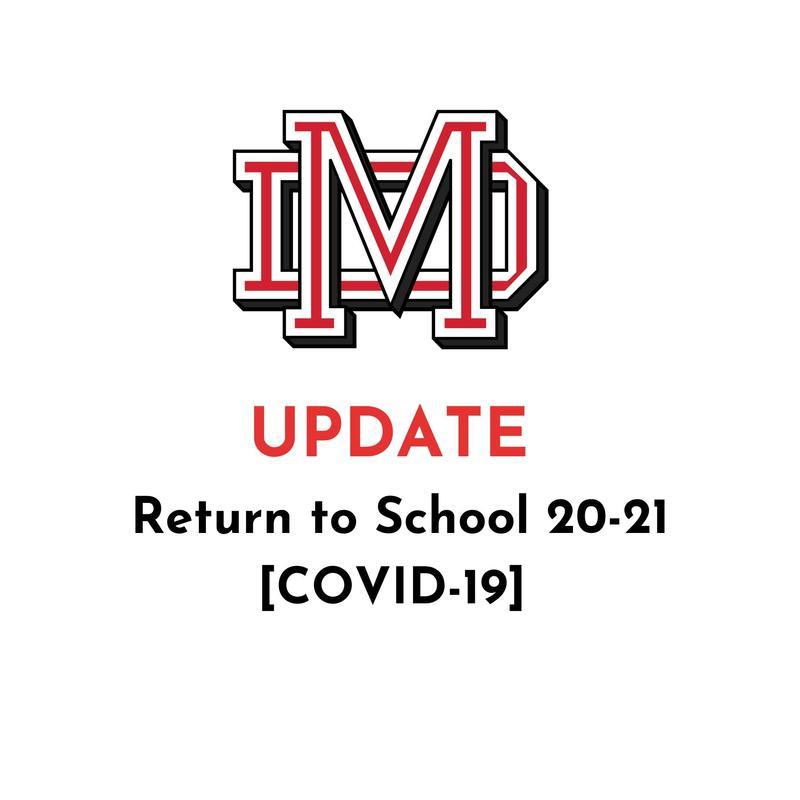 Return to School 20-21 [COVID-19 Updates] Featured Photo