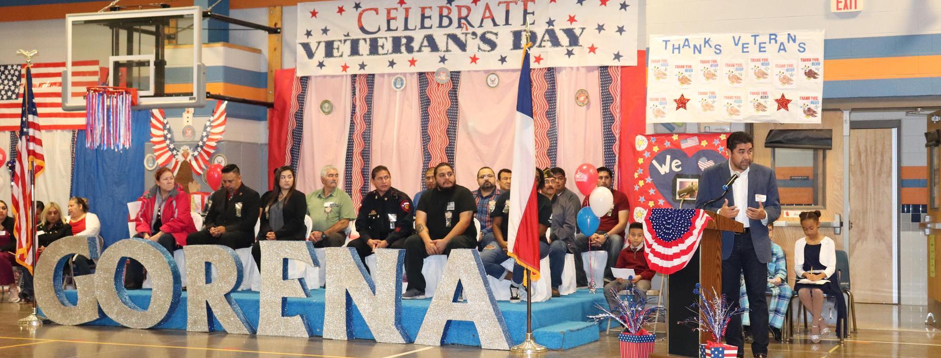 picture of Veteran's program