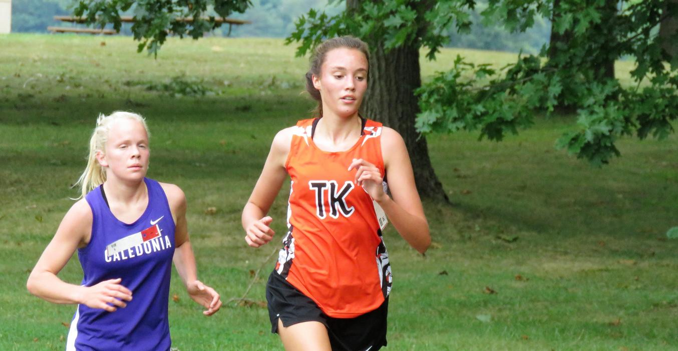 TKHS Cross Country team competes at the Coach B. Invitational.