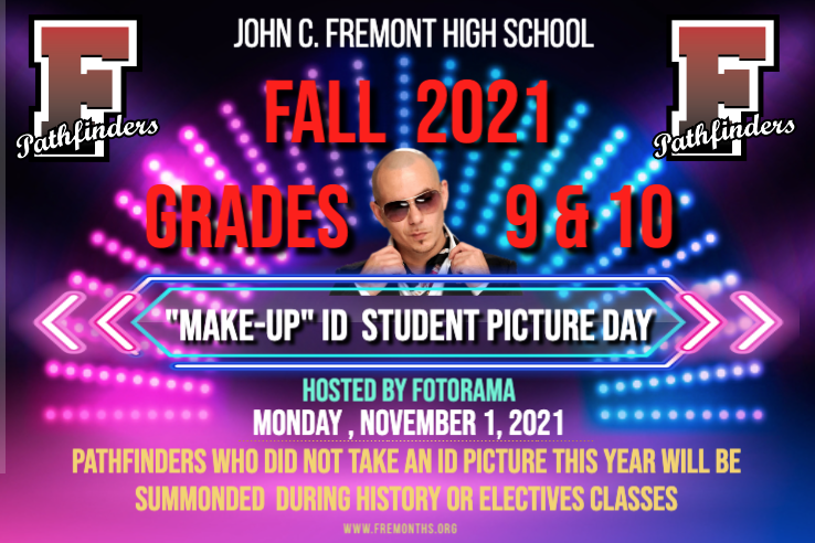 """Grade 9 & 10 Student """"Make-Up"""" ID Picture Day Featured Photo"""