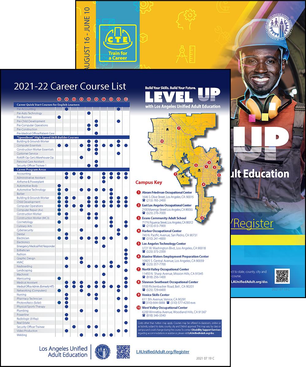 Career Technical Education Flyer - Program Area - Cover 04