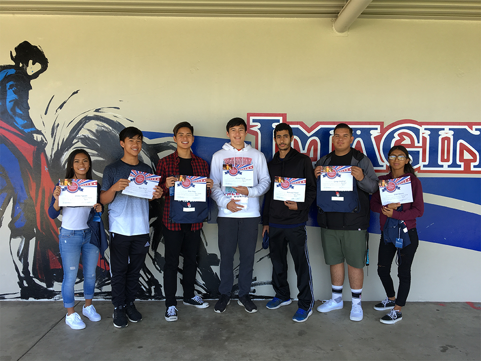 April 2018 Athletes of the Month