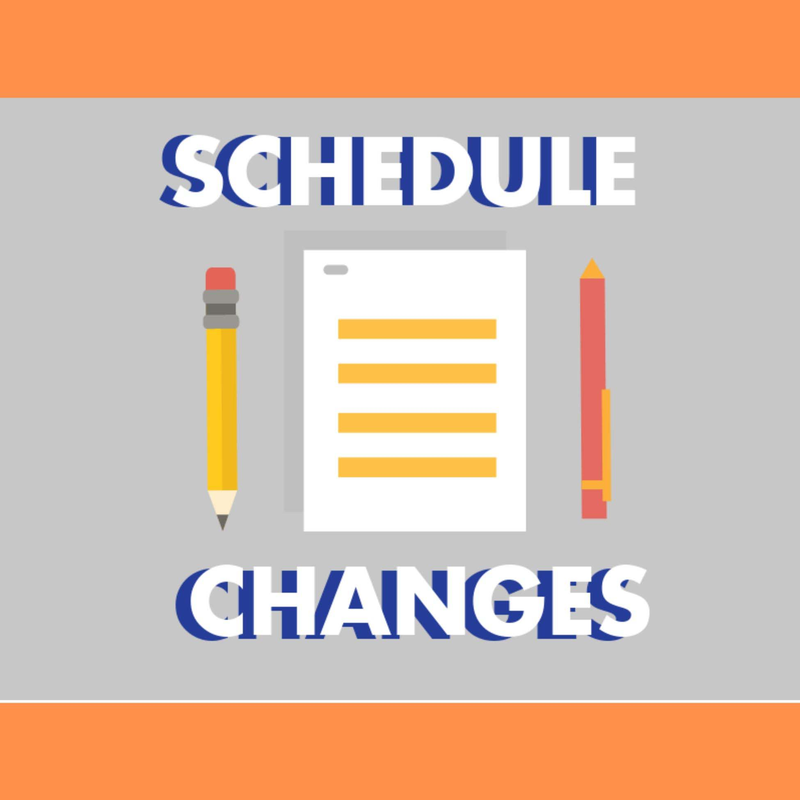 Click Here to Access the Schedule Change Form Thumbnail Image