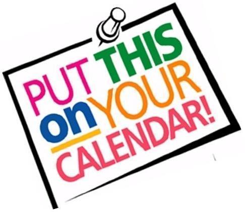 New calendar dates Featured Photo