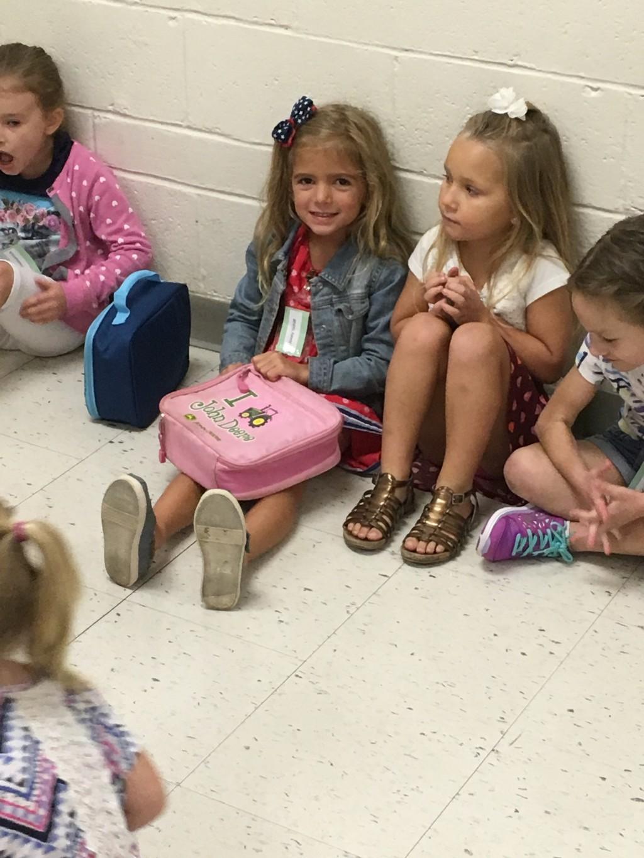 Kindergarteners at SME