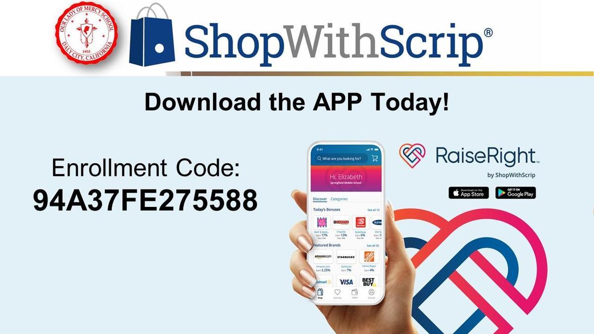 Enrollment Code 94A37FE275588