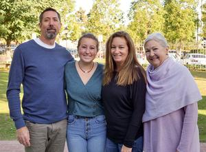 Maya and her family