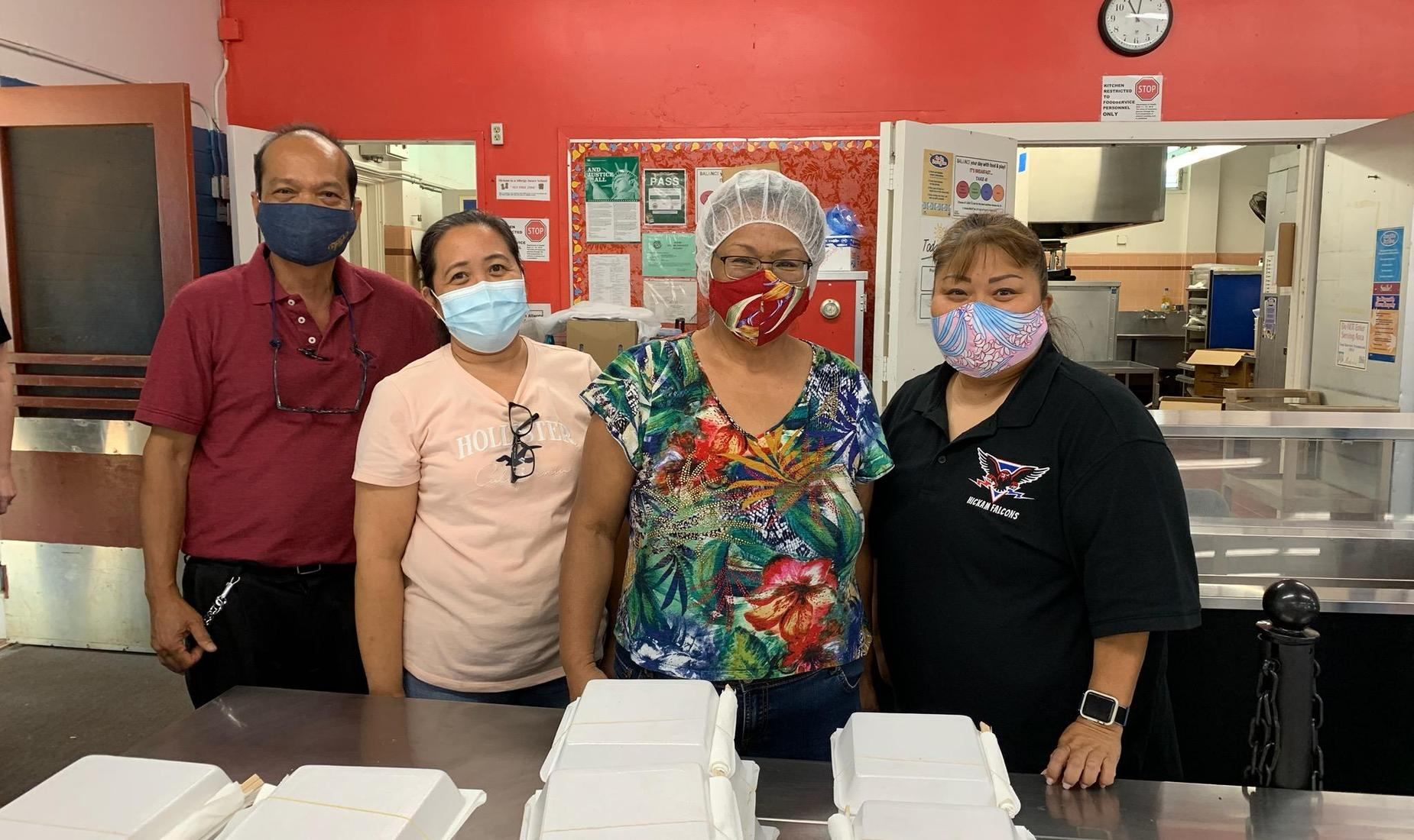 Our Cafeteria staff