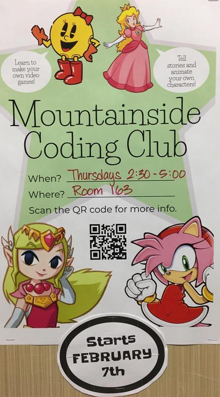 Mountainside Coding Club